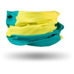 Chusta komin Kross Tube żółto-zielony