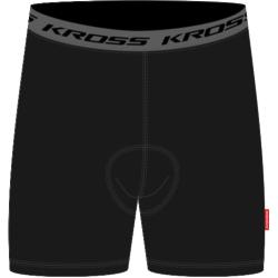 Bokserki Kross Base Man rozmiar L czarne