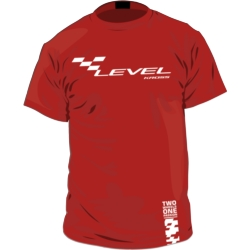 Koszulka T-Shirt Kross Level rozmiar L czerwony