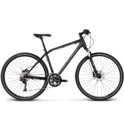 Rower crossowy Kross EVADO 7.0 rozmiar M 2017 czarny-srebrny-grafitowy mat