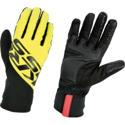 Rękawiczki Kross Controvento rozmiar L przeciwwietrzne żółte
