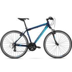 Rower crossowy Kross EVADO 1.0 Men rozmiar L 2017 granatowy-niebieski mat