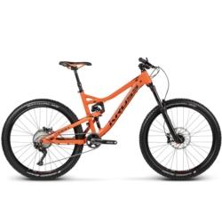 Rower MTB Enduro Kross MOON 2.0 rozmiar L 2017 pomarańczowy-czarny mat
