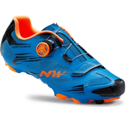 Buty Northwave Scorpius 2 Plus niebieski-pomarańczowy rozmiar 41