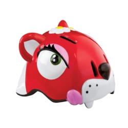 Kask dziecięcy Crazy Stuff Czerwony Kot rozmiar 49-55cm