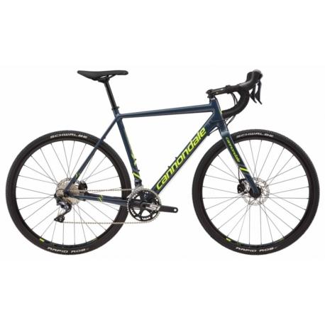 Rower cyclocross Cannondale CAAD X Ultegra 2018 rozmiar 54 cm niebieski-żółty połysk