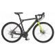 Rower szosowy GT Grade Claris 2017 rozmiar 55 cm grafitowy-limonkowy połysk