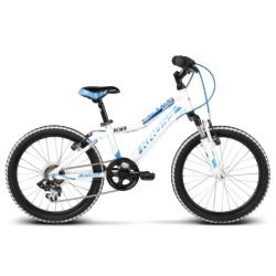 """Rower Kross LEVEL MINI 20"""" 2018 biały-niebieski połysk"""