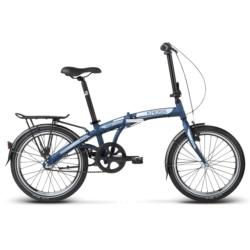 Rower miejski składak Kross FLEX 3.0 2018 granatowy-grafitowy mat