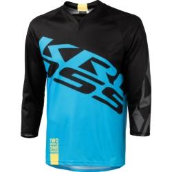 Koszulka Enduro Kross Hyde 3/4 rozmiar S niebieska