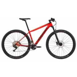 Rower MTB XC 27.5 Cannondale F-Si Carbon 5 rozmiar S 2018 czerwony-pomarańczowy połysk