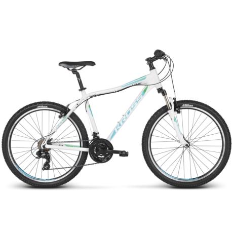 * Rower MTB 26 Kross Lea 1.0 rozmiar XXS 2018 biały-turkusowy-zielony połysk