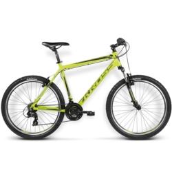 Rower MTB 26 Kross Hexagon X1 rozmiar M 2016 limonkowy jasny-czarny połysk