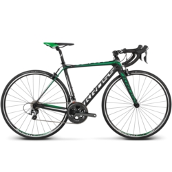 Rower szosowy Kross VENTO 5.0 rozmiar L 2018 czarny-zielony-biały mat