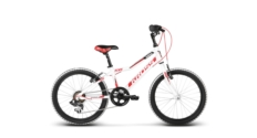 """Rower Kross HEXAGON MINI 20"""" 2018 biały-czerwony-czarny połysk"""