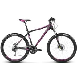 Rower MTB 27,5 Kross Lea R6 rozmiar M 2017 czarny-grafitowy-różowy mat