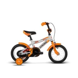 """Rower 12"""" Kross Kido 2018 grafit-pomarańczowy-czerwony połysk"""