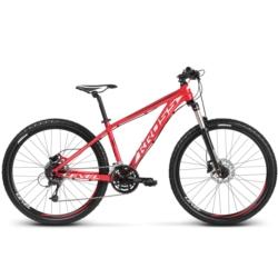 Rower MTB 26 Kross Level Replica TE 26 rozmiar M 2018 czerwony-biały-bordowy połysk