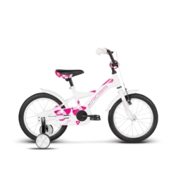 """Rower Kross LILLY 16"""" biały-różowy połysk"""