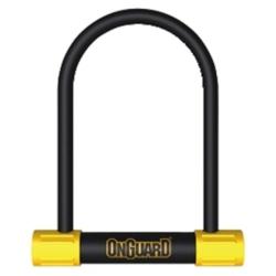 Zapięcie rowerowe ONGUARD Bulldog STD 8010 U-Lock 13x115x230mm 5 x klucz z kodem