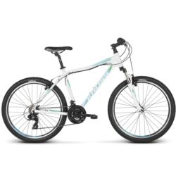 Rower MTB 26 Kross Lea 1.0 rozmiar XS 2018 biały-turkusowy-zielony połysk