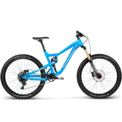 Rower MTB Enduro Kross MOON 1.0 rozmiar L 2018 niebieski-srebrny mat