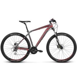 Rower MTB XC 27.5 Kross Level 2.0 rozmiar S 2018 grafitowy-czerwony-bordowy mat