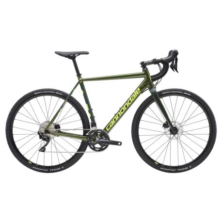 Rower cyclocross Cannondale CAAD X 105 2019 rozmiar 56 cm zielony-żółty połysk