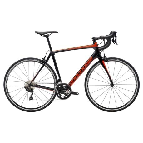Rower szosowy Cannondale SYNAPSE Carbon 105 2019 rozmiar 54cm czarny-pomarańczowy połysk