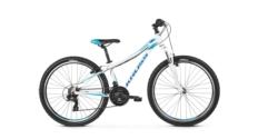 Rower MTB 26 Kross Lea 1.0 rozmiar XS 2019 biały-niebieski połysk