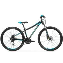 ** Rower MTB 27.5 Kross Lea 5.0 rozmiar XS 2019 czarny-turkusowy połysk