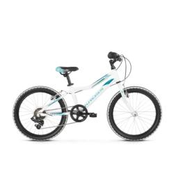 Rower Kross Lea Mini 1.0 2019 biały-turkusowy połysk
