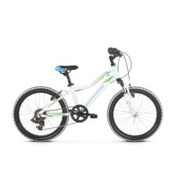 Rower Kross Lea Mini 2.0 2019 biały-niebieski-zielony połysk