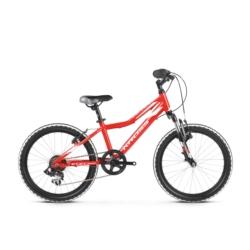 Rower Kross Level Mini 2.0 2019 czerwony-biały połysk