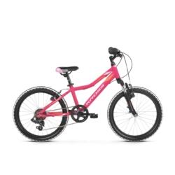 Rower Kross Lea Mini 2.0 2019 różowy-pomarańczowy mat
