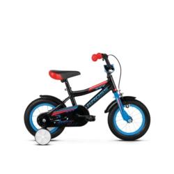"""Rower 12"""" Kross Racer 2.0 2019 czarny-niebieski-czerwony połysk"""