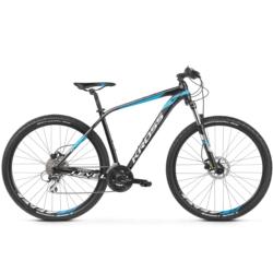 Rower MTB XC 27.5 Kross Level 2.0 rozmiar M 2019 czarny-niebieski-biały połysk