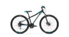 Rower MTB 27.5 Kross Lea 5.0 rozmiar XXS 2019 czarny-turkusowy połysk