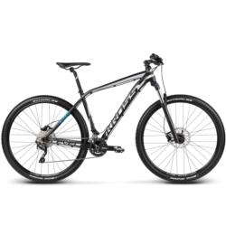 Rower MTB XC 29 Kross Level B6 rozmiar L 2017 czarny-srebrny-niebieski mat