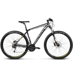 * Rower MTB XC 29 Kross Level B4 rozmiar M 2017 czarny-srebrny-żółty połysk
