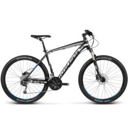 Rower MTB XC 27,5 Kross Level R4 rozmiar L 2017 czarny-srebrny-niebieski mat