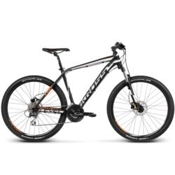 Rower MTB XC 27,5 Kross Level R2 rozmiar L 2017 czarny-biały-pomarańczowy mat