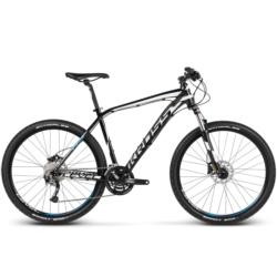 Rower MTB XC 27,5 Kross Level R3 rozmiar L 2017 czarny-biały-niebieski połysk