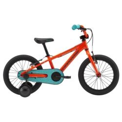 """Rower dziecięcy Cannondale Trail 16"""" Single Speed Boy's pomarańczowy"""