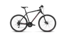 Rower crossowy Kross EVADO 5.0 rozmiar M czarny-czerwony mat