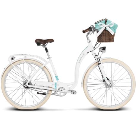 Rower miejski Le Grand Lille 7 rozmiar L biały połysk