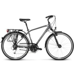 Rower trekkingowy Kross TRANS 5.0 Men rozmiar M 2019 grafitowy-srebrny połysk