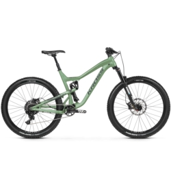 "Rower MTB Enduro Kross MOON 1.0 29"" rozmiar M 2019 zielony-grafitowy mat"