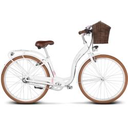Rower miejski Le Grand Lille 5 rozmiar DL 2019 biały połysk