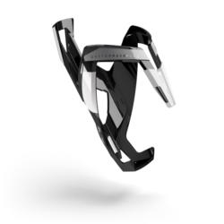 Koszyk bidonu Elite Custom Race Plus Czarno-Biały